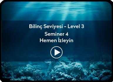 Kuantum ve Sufizm ile Öze Yolculuk Bilinç Seviyesi / Level 3 / Seminer 4
