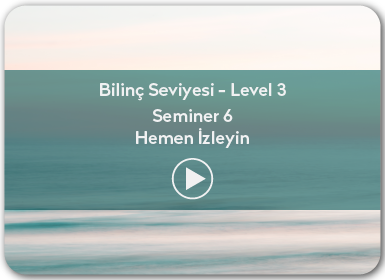 Kuantum ve Sufizm ile Öze Yolculuk Bilinç Seviyesi / Level 3 / Seminer 6