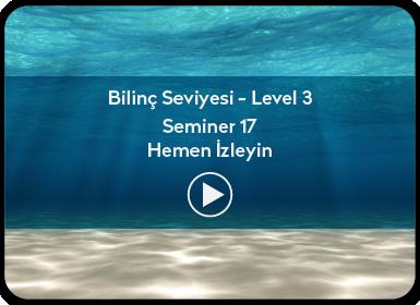 Kuantum ve Sufizm ile Öze Yolculuk Bilinç Seviyesi / Level 3 / Seminer 17