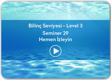 Kuantum ve Sufizm ile Öze Yolculuk Bilinç Seviyesi / Level 3 / Seminer 29