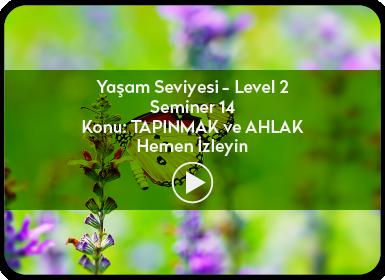 Kuantum ve Sufizm ile Öze Yolculuk Yaşam Seviyesi / Level 2 / Seminer 14